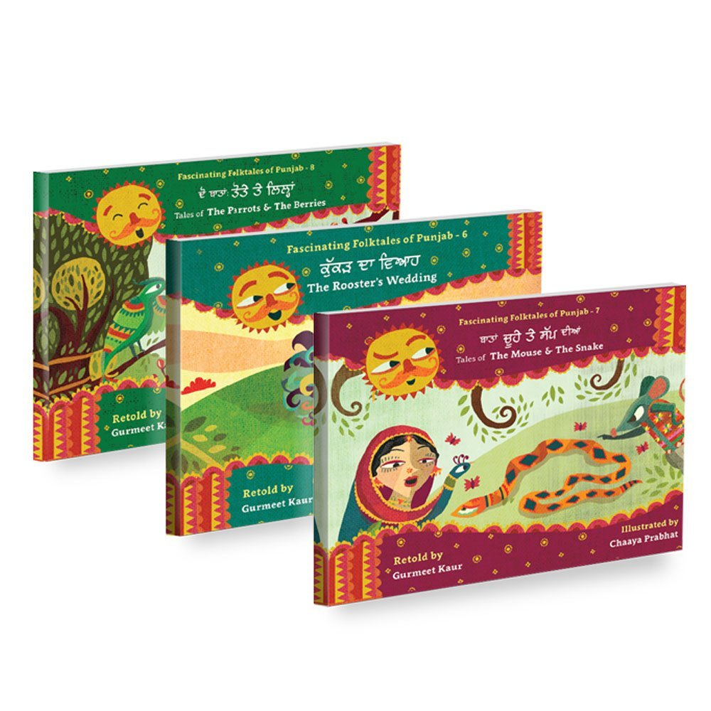 Fascinating Folktales of Punjab Set 3 (Books 6-8)